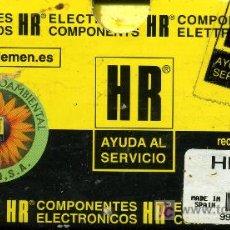 Radios antiguas: TRANSFORMADOR MAT HR - 7723. Lote 26897832