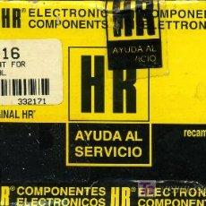 Radios antiguas: TRANSFORMADOR MAT HR - 7716. Lote 27412395