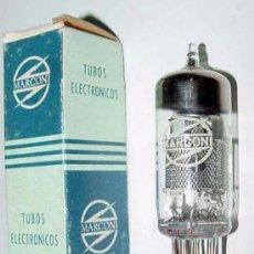Radios antiguas: ANTIGUA LAMPARA O VALVULA PARA RADIO - MARCONI EF 184 CON SU CAJA - TAL COMO SE VE EN LA FOTO - NO L. Lote 101274390