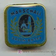 Radios antiguas: CAJITA DE AGUJAS DE GRAMOFONO DE LA MARCA MARSCHALL, SALON EXTRA. Lote 26841951