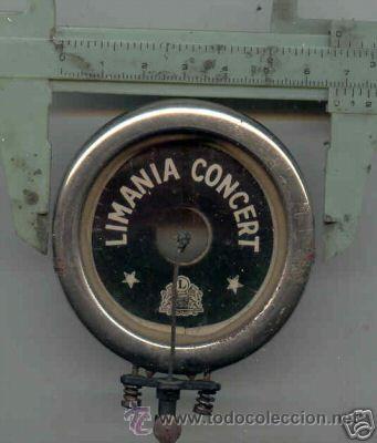DIAFRAGMA DE GRAMOFONO LIMANIA CONCERT (Radios, Gramófonos, Grabadoras y Otros - Repuestos y Lámparas a Válvulas)