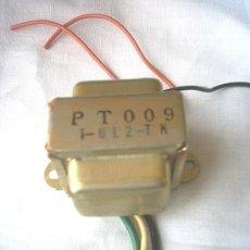 Radios antiguas: TRANSFORMADOR 125/220, 6+6V.. Lote 19388214