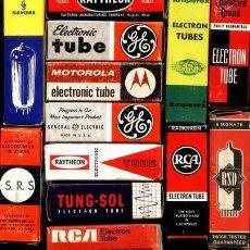Radios antiguas: VALVULAS RADIO Y TV. Lote 18681935