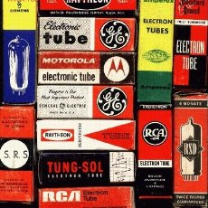 Radios antiguas: VALVULAS RADIO Y TV. Lote 27359408