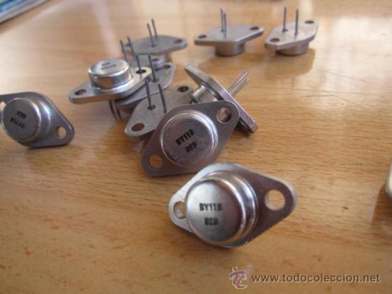 ELECTRONICA DIODO ' BY118 ' - MAS DISPONIBLES . PRECIO POR UNIDAD 3€ - PERFECTOS SIN USO. + INFO (Radios, Gramófonos, Grabadoras y Otros - Repuestos y Lámparas a Válvulas)