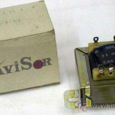 Radios antiguas: TRANSFORMADOR AVISOR DE SALIDA PARA VÁLVULA TL 4003 CON CAJA. Lote 12467628
