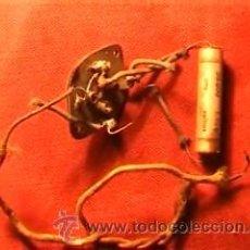 Radios antiguas: MUSIVOX CAPACIDAD 50000 TENSION 1000 1942. Lote 13837836