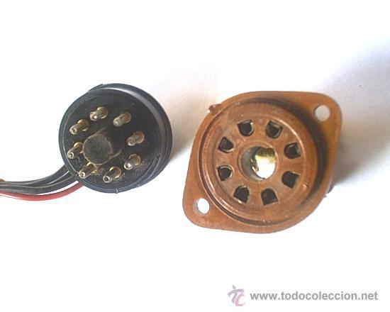 ANTIGUO ZOCALO DE CONEXIONES (Radios, Gramófonos, Grabadoras y Otros - Repuestos y Lámparas a Válvulas)