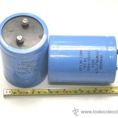 Radios antiguas: 2 CONDENSADORES ELECTROLITICOS 51000 MF 40 V SPRAGUE POWERLYTIC TESTADOS. Lote 17509948