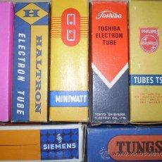 Radios antiguas: VALVULAS DE RADIO Y TV.. Lote 26936565