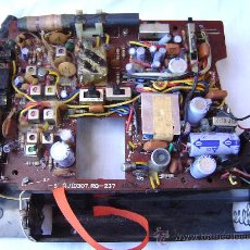 Radios antiguas: CIRCUITO IMPRESO CON COMPONENTES. Lote 25470239