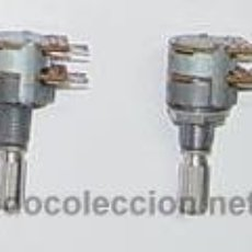 Radios antiguas: POTENCIOMETRO DOBLE 2 X 2K2...SANNA. Lote 19989607