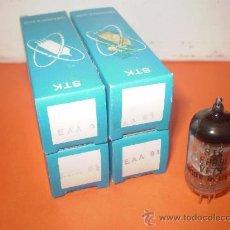 Radios antiguas: LOTE DE 4 VALVULAS EAA91.. Lote 35571943