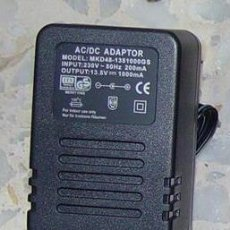 Rádios antigos: ALIMENTADOR TRANSFORMADOR ADAPTADOR 13,5V 1000 MA...SANNA. Lote 38908200