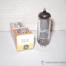 Radios antiguas: VALVULA 7551 NUEVA.. Lote 160889230