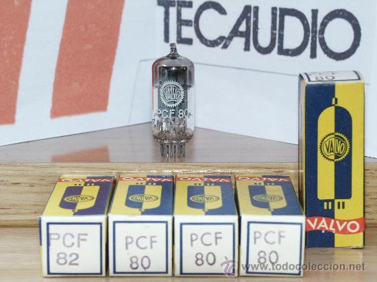 PCF80 VALVULA ( ELECTRONIC TUBE ) UNIDAD (Radios, Gramófonos, Grabadoras y Otros - Repuestos y Lámparas a Válvulas)