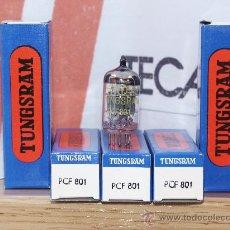 Radios antiguas: PCF801 TUNGSRAM VALVULA ( ELECTRONIC TUBE ) LOTE DE 5 VALVULAS. Lote 29491466