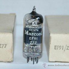 Radios antiguas: EF91 MARCONI VALVULAS ( ELECTRONIC TUBES ) UNIDAD. Lote 29560257
