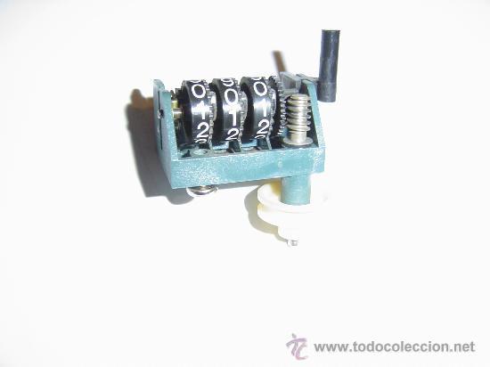 CONTADOR DE VUELTAS MECANICO (Radios, Gramófonos, Grabadoras y Otros - Repuestos y Lámparas a Válvulas)