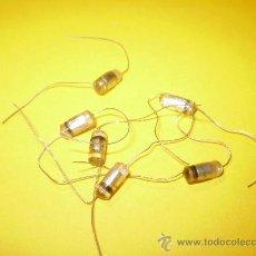 Radios antiguas: 6 CONDENSADORES 39PF-500V SIN USO.. Lote 35222920