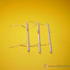 Radios antiguas: 3 CONDENSADORES 820PF-500V SIN USO.. Lote 29893881