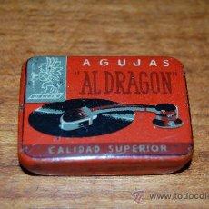 Radios antiguas: CAJITA DE AGUJAS DE GRAMOFONO.. Lote 30829891