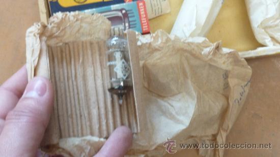 Radios antiguas: Lote de 8 lamparas de radio antiguas. - Foto 3 - 31099927