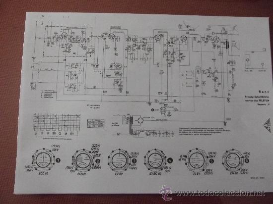 Radios antiguas: ESQUEMA y CUADROS De COMPONENTES de radio de válvulas de todas las marcas y modelos. ENVIO GRATIS. - Foto 2 - 148226538