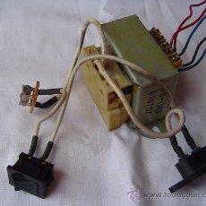 Radios antiguas: TRANSFORMADOR CON COMPONENTES. Lote 32120811
