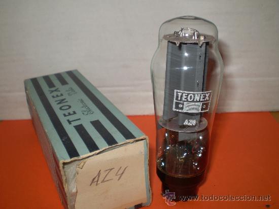 VALVULA AZ4-NOS TUBE. (Radios, Gramófonos, Grabadoras y Otros - Repuestos y Lámparas a Válvulas)