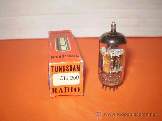 VALVULA ECH200-NOS TUBE. (Radios, Gramófonos, Grabadoras y Otros - Repuestos y Lámparas a Válvulas)