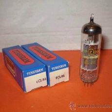 Radios antiguas: 2 X VALVULA ECL85-NOS TUBE.. Lote 34380111