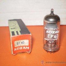 Radios antiguas: VALVULA EF40-NOS TUBE.. Lote 34380287