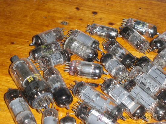 Radios antiguas: 25 LAMPARAS A VALVULAS. TUNGSRAM, MULLARD, PHILIPS, MARCONI... - Foto 2 - 34483953