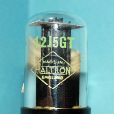 Radios antiguas: 12J5GT - HALTRON VALVULA ( ELECTRONIC TUBE ) NOS. Lote 34529748