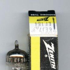 Radios antiguas: 6EJ7 - ZENITH VALVULA ( ELECTRONIC TUBE ) UNIDAD. Lote 34580148