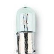 Radios antiguas: PILOTO BAYONETA 130V 2,6W..RADIO DIAL LAMPARITA LAMPARA...SANNA. Lote 179749700