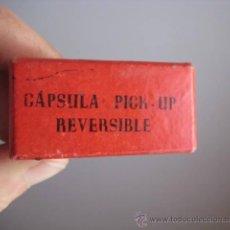 Radios antiguas: CAJITA PARA CAPSULA PICK UP. ENVIO GRATIS¡¡¡. Lote 35630933