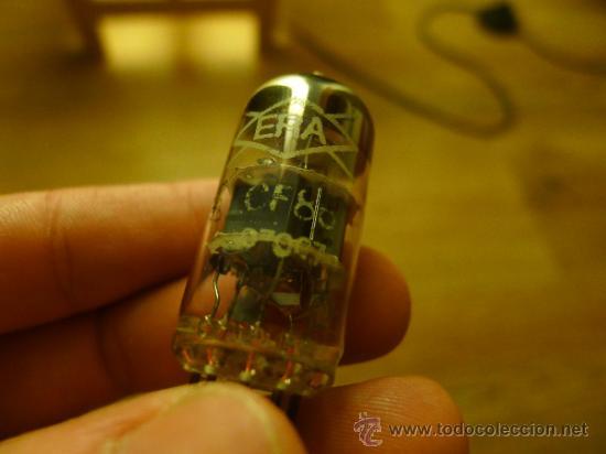 Radios antiguas: Lote de Valvulas algunas en su caja original MIniwatt Trigon Edicron Mullard Era - Foto 13 - 37373362