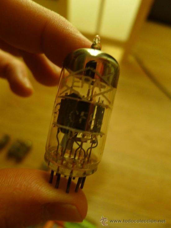Radios antiguas: Lote de Valvulas algunas en su caja original MIniwatt Trigon Edicron Mullard Era - Foto 5 - 37373362