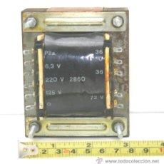 Radios antiguas: POWER TRANSFORMER TRANSFORMADOR DE ALIMENTACION REF. 2860 AMPLIFICADOR A VALVULAS TESTADO. Lote 37390820