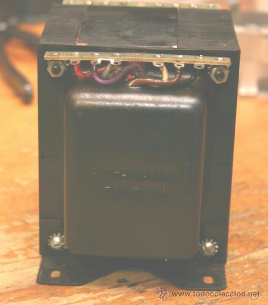 MARANTZ MODEL 250 M POWER TRANSFORMER TRANSFORMADOR DE ALIMENTACION ORIGINAL 110-220V (Radios, Gramófonos, Grabadoras y Otros - Repuestos y Lámparas a Válvulas)