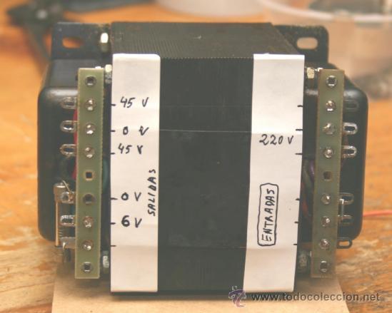 Radios antiguas: MARANTZ model 250 M POWER TRANSFORMER transformador de alimentacion original 110-220V - Foto 3 - 67894426