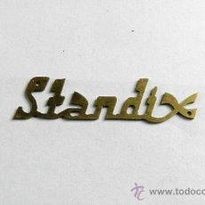 Radios antiguas: MARCA STANDIX DE METAL PARA RADIO - MEDIDA 5 CM.. Lote 37629054
