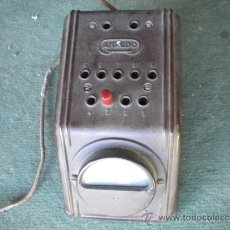Radios antiguas: ELEVADOR DE BAQUELITA ANALDO, 15X9X8. Lote 37722236