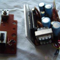 Radios antiguas: CIRCUITO IMPRESO CON COMPONENTES. Lote 39573396