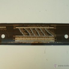 Radios antiguas: CRISTAL DE DIAL. 54 X 12 CM. - GRAETZ-STEREO REF. 17. Lote 39905726