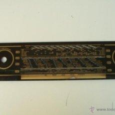 Radios antiguas: CRISTAL DE DIAL. 45 X 10,2 CM. - REF. 24. Lote 39909026