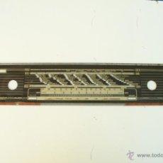 Radios antiguas: CRISTAL DE DIAL. 56 X 10,5 CM. - GRAETZ - REF. 26. Lote 39909125