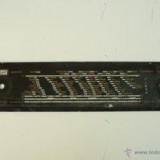 Radios antiguas: CRISTAL DE DIAL. 48 X 11 CM. REF. 30. Lote 39910224